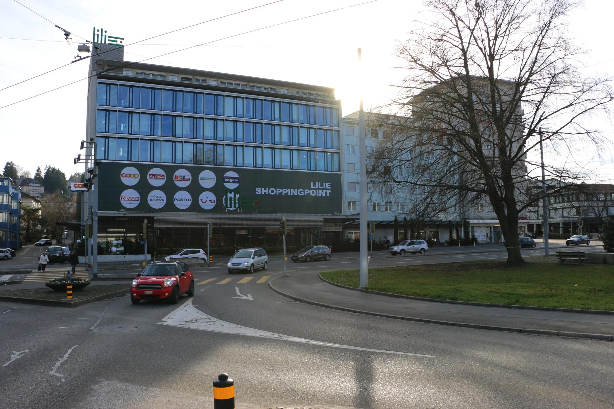 Schlierens Stadtzentrum Foto: B. Heiniger